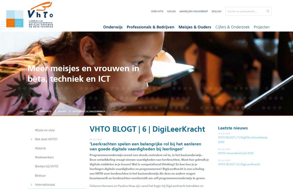 VHTO blog
