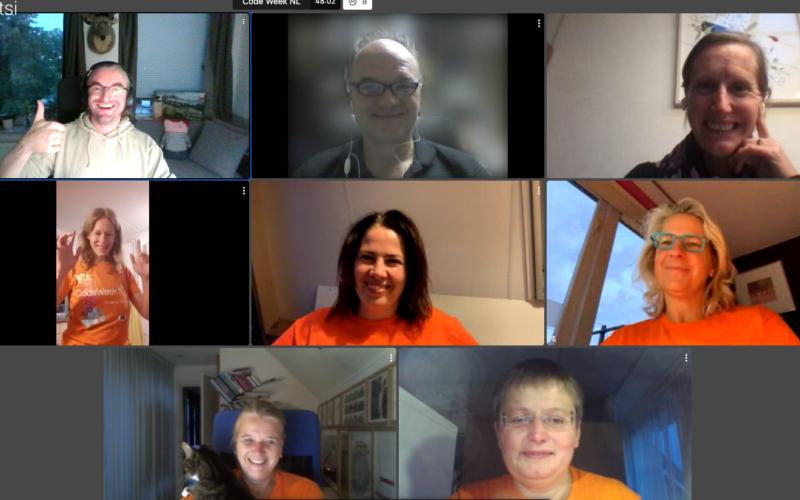 CodeWeek NL teachers